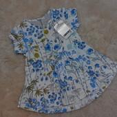 Красивенное, новое платьице Next на девочку 3-6 месяцев