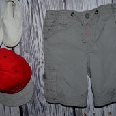 2 - 3 года 98 см Очень модные крутые Шорты фирменные для мальчика узкачи