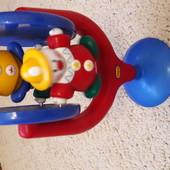Вертящиеся клоуны (на присоске) TOLO