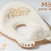 Детская сидение-накладка на унитаз антискользящая  Tega Mis MS-016 (цвета в ассортименте)