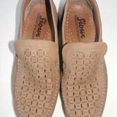 Мужские кожаные туфли Sioux р.9 дл.ст 28,5см