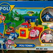 Паркинг XZ-300/1/2 Поли, Эмбер и Рой. 2 машинки в наборе