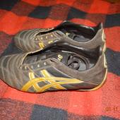 Кожаные кроссовки 39р.