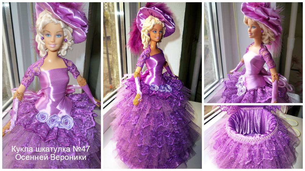 Кукла шкатулка барби маттел (под заказ) фото №1