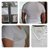 C&A Мужские белые футболки 3xl, маломеры, Германия