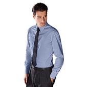 Классическая приталенная рубашка с галстуком Tchibo Германия ворот 41/42