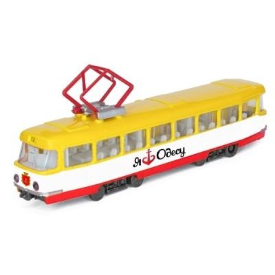 Технопарк модель городской трамвай одесса фото №1