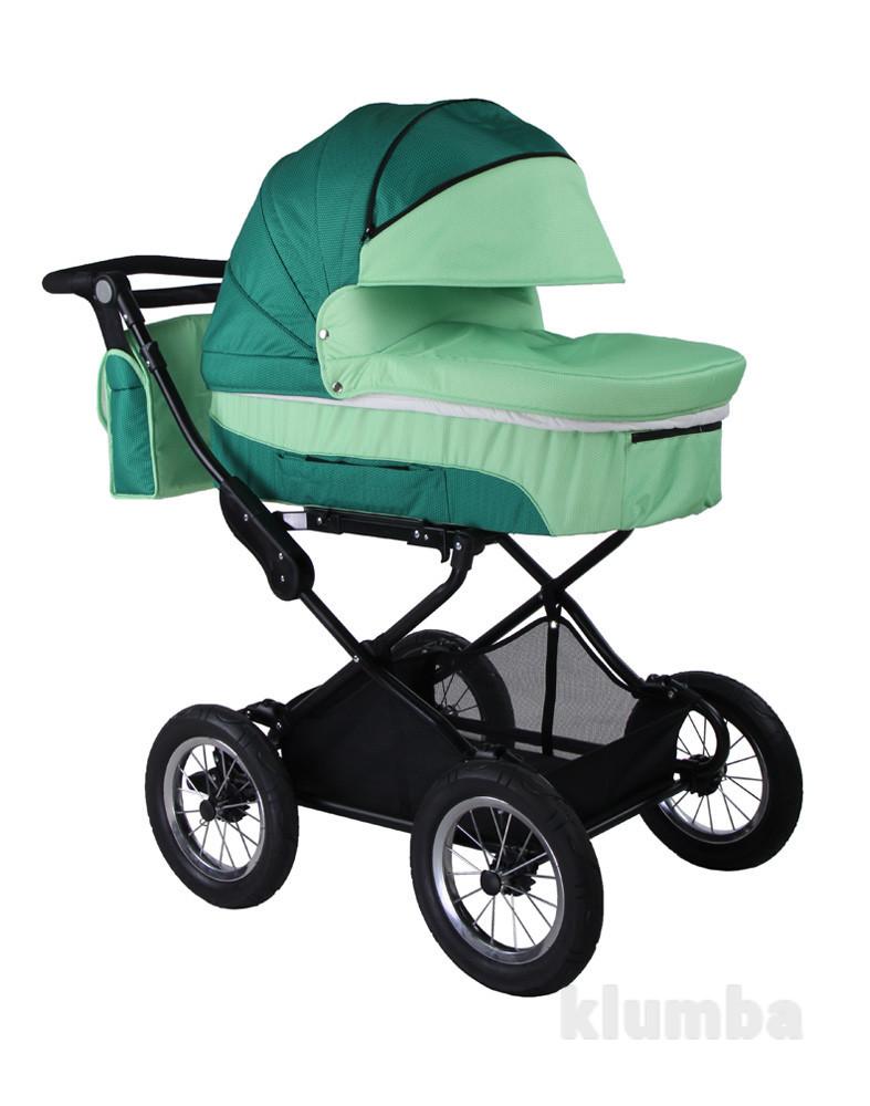 New! коляска универсальная 2 в1 babyhit evenly - green, зеленый фото №1