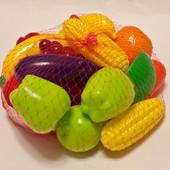 Набір овочів та фруктів, ТМ Оріон, в асортим.