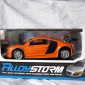 Машинка – моделька металл 1:32 Audi R8 свет, звук
