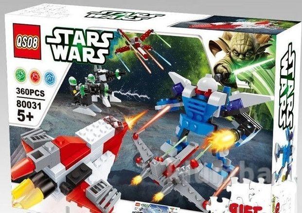 Конструктор серия stars wars 80031 фото №1