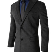 Стильное классическое пальто из кашемира
