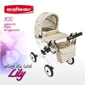 Детская коляска для кукол Adbor Lily с сумкой К17