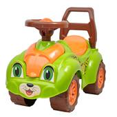 Машинка ТехноК 3428 Леопард Автомобиль для прогулок салатовая каталка толокар