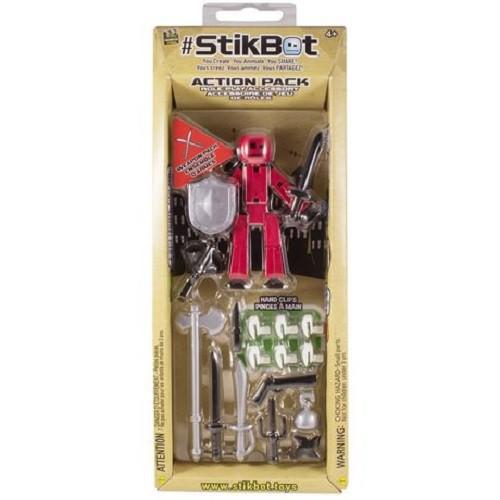 Stikbot фигурка для анимационного творчества стикбот s2 weapon 1 экскл. фигурка, аксессуары фото №1