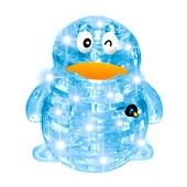 Пазлы 3D 9008А Пингвин 63 дет, в кор-ке 27-18-6 см