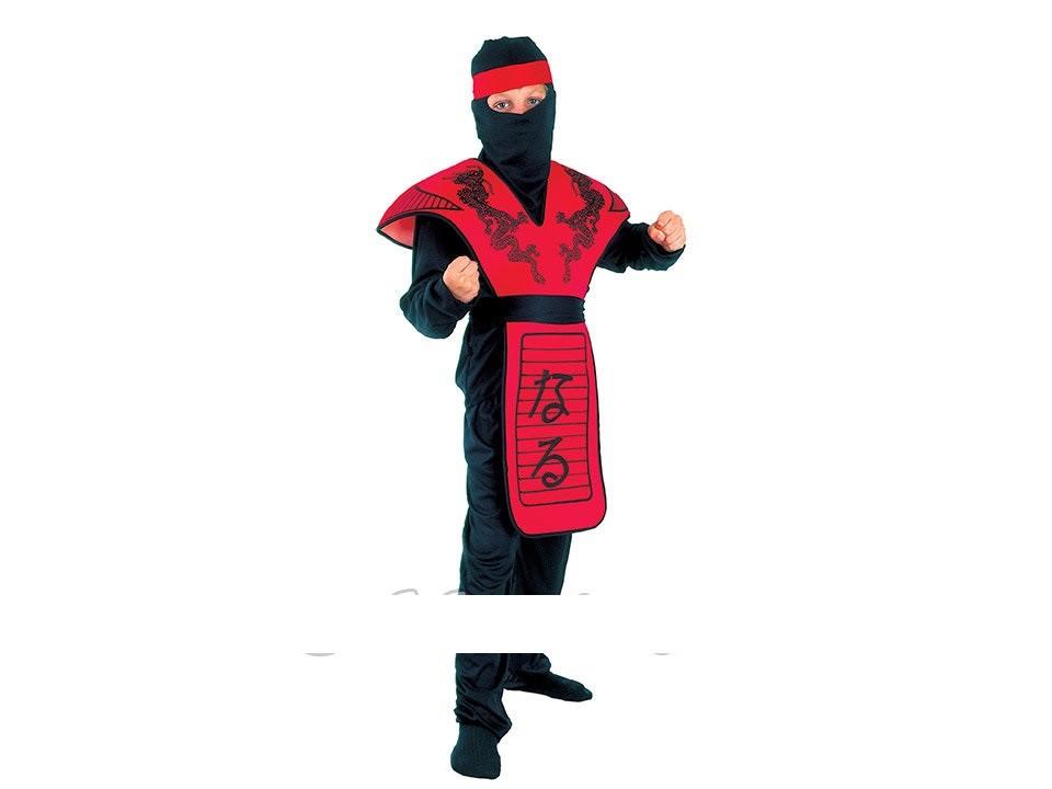 Карнавальный костюм красный ниндзя фото №1