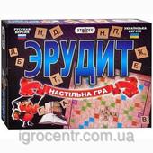 Настольная игра Эрудит (русский+украинский)