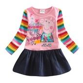 Розовое платье с Пеппой TM Nova