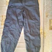 Теплые демисезонные ( еврозима) брюки на 10 -12 лет ( 152 -158)