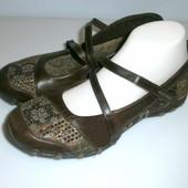 2571 Туфли Skechers UK 6/39 _кожа!!