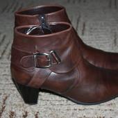 Кожаные  ботиночки .Размер 39