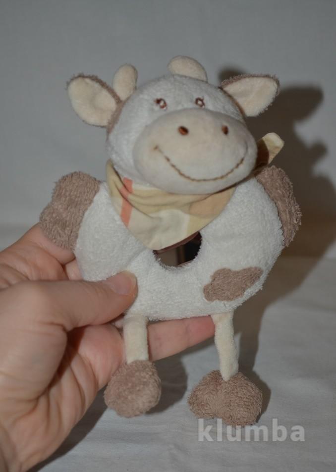 Удивительно нежная и красивая погремушка коровка корова фото №1