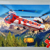 Пазлы 54 элемента Воздушный транспорт от 5 лет Castorland 4 вида