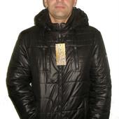 Мужская куртка с капюшоном 1 чёрный