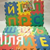 Ігровий килимок-мозаїка Алфавіт,арт.М0379