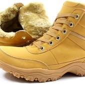 Стильные зимние мужские ботинки Польша