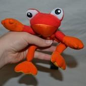 Мягкая развивающая игрушка лягушка лягушенок для ваших малышей