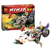 Конструктор 10318 / 79039 Bela Ninja Go, бела ниндзя 10318 разрушитель клана Анакондрай