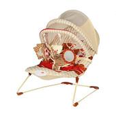 Шезлонг качалка BR 20887 музыкальный стульчик с вибро режимом