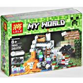 Конструктор 79043 / 10174 Lele (аналог Лего Пещера) Майнкрафт, Minecraft