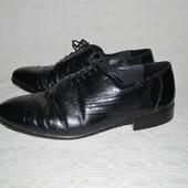 Брендовые туфли Malvern натур. кожа р. 41 по стельке 27 см.