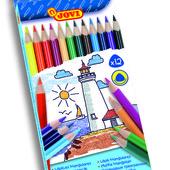JOVI (Испания) карандаши цветные трехгранные 12 цветов самые лучшие!!!