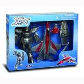 Игровой набор - Робот-трансформер(15 см), Самолет, Воин в нетоварной упаковке
