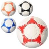 Мяч футбольный - размер 5,ПУ 1,4мм,4слоя,32панели,400-420г,4 цвета,