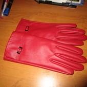 перчатки новые кожзам