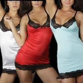 6-22 Ночная рубашка сорочка пеньюар/ Сексуальное белье/ Эротическое белье
