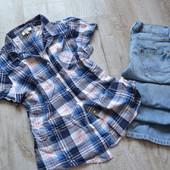 новая блузка рубашка Papaya 14 размер