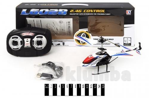 Вертолет радиоуправляемый l6028 фото №1