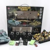Танковый бой радиоуправляемые танки 9445  Т-62