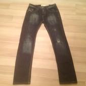 Стильные мужские джинсы Terranova с нюансом 42 размер