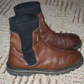 Кожаные женские ботиночки Размер 37