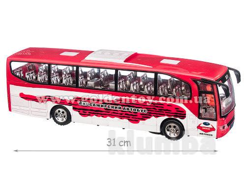 Автобус игрушечный на батарейках фото №1