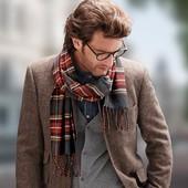 Стильный фланелевый мягкий шарф TCM Tchibo