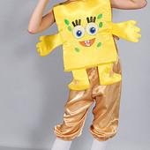 Карнавальный Новогодний  костюм Спанч Боб