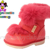 Зимние ботиночки для девочки Шалунишка р.27 32